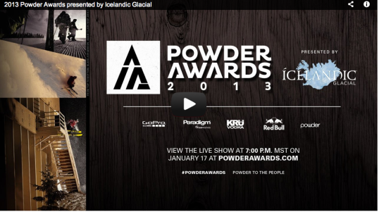 Powder Awards SS